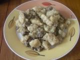 Chlupačky s houbami recept