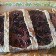 Tvarohový koláč z listového těsta recept