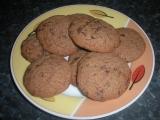 Čokoládové sušenky s ořechy recept