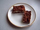 Strouhaný kakaový koláč s tvarohem recept
