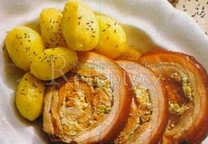 Vepřová roláda se zeleninovou náplní