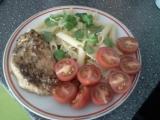 Kuřecí steak s těstovinami recept