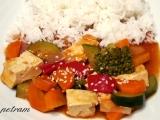 Tofu v zelenině recept
