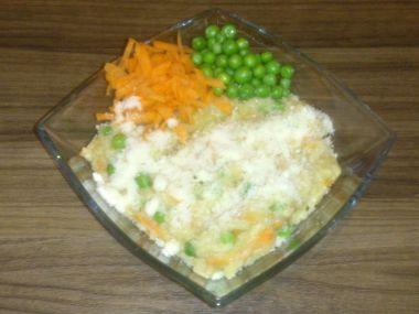 Italské rizoto se zeleninou ,,co dům dal
