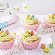 Cupcakes s velikonočními vajíčky recept
