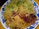 Kuře v pórkové smetaně recept