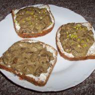 Houbové toasty 1 recept