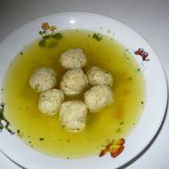Polévka s drožďovými knedlíčky recept