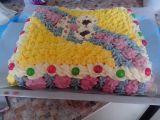 Barevný dort k 18 recept