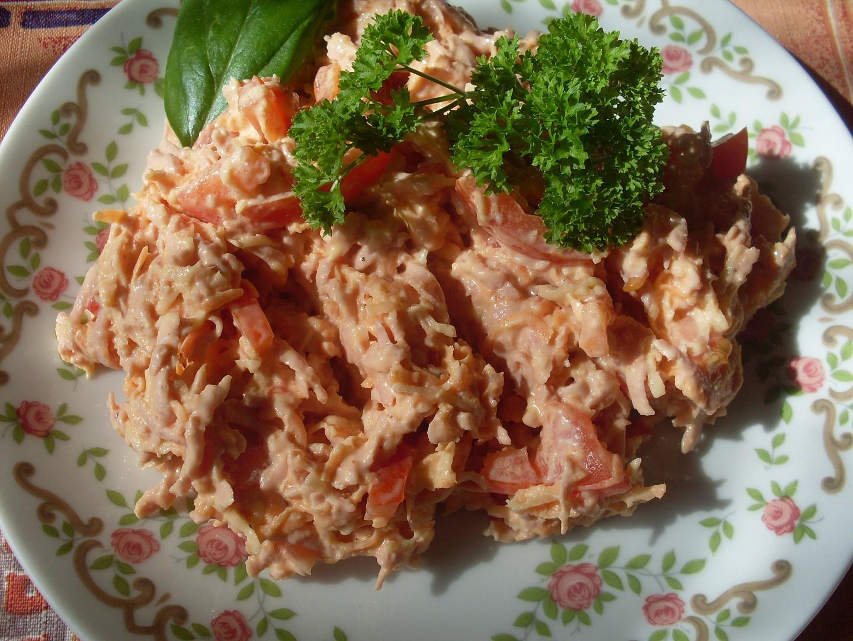 Pikantní salát recept