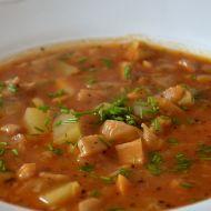 Gulášovo-dršťková polévka z hlívy ústřičné recept