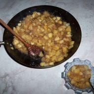 Teplý jablíčkový kompot recept