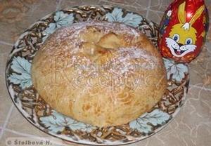 Velikonoční mazanec bez vajec