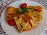 Pizza z listového těsta I. recept