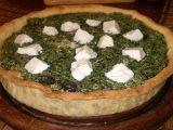 Špenátové quiche (kiš) recept