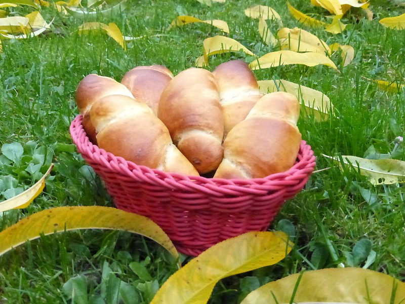 Sladké rohlíčky s tangzhongem recept