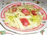 Těstovinový salát se salámem recept