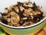 Hlíva s oříšky recept
