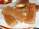 Toastové rolky se sýrem recept