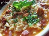 Dobrá hustá polévka s hlívou ústřičnou a kroupami recept ...