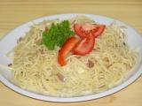 Špagety s brynzou recept