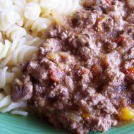 Ragú z drůbežích jater a rajčátek recept