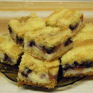 Borůvkový švédský koláč recept