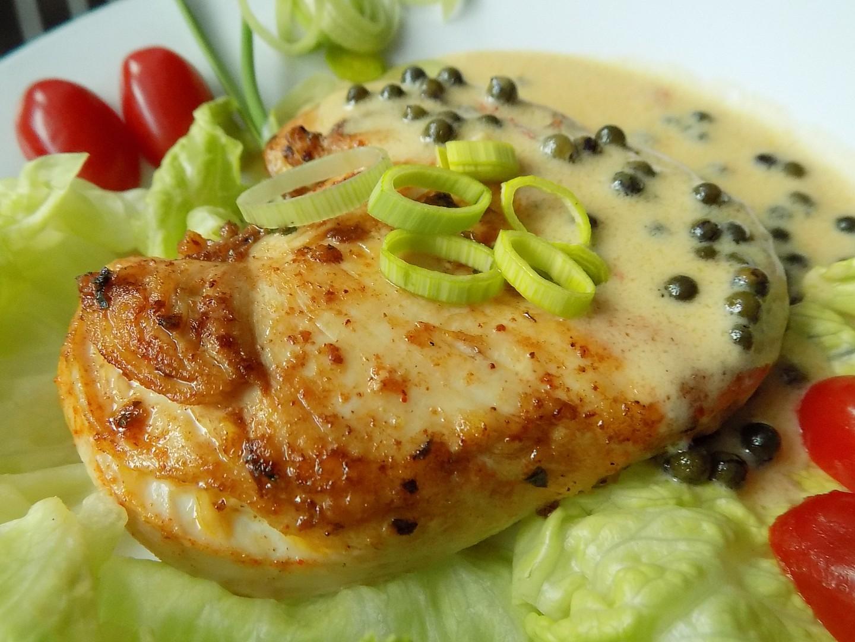 Kuřecí steak na zeleném pepři recept