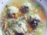 Houbovo-krupicové knedlíčky do vývarů recept