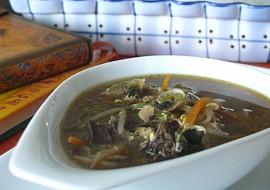 Čínská ostrokyslá polévka  moja imitácia recept
