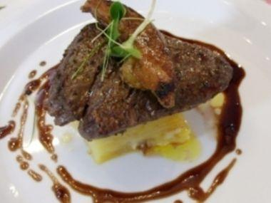 Recept Hovězí steak s koňakovou omáčkou