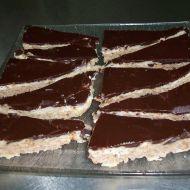 Mandlové řezy s čokoládou recept