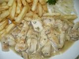 Provensálské kuřecí nudličky recept