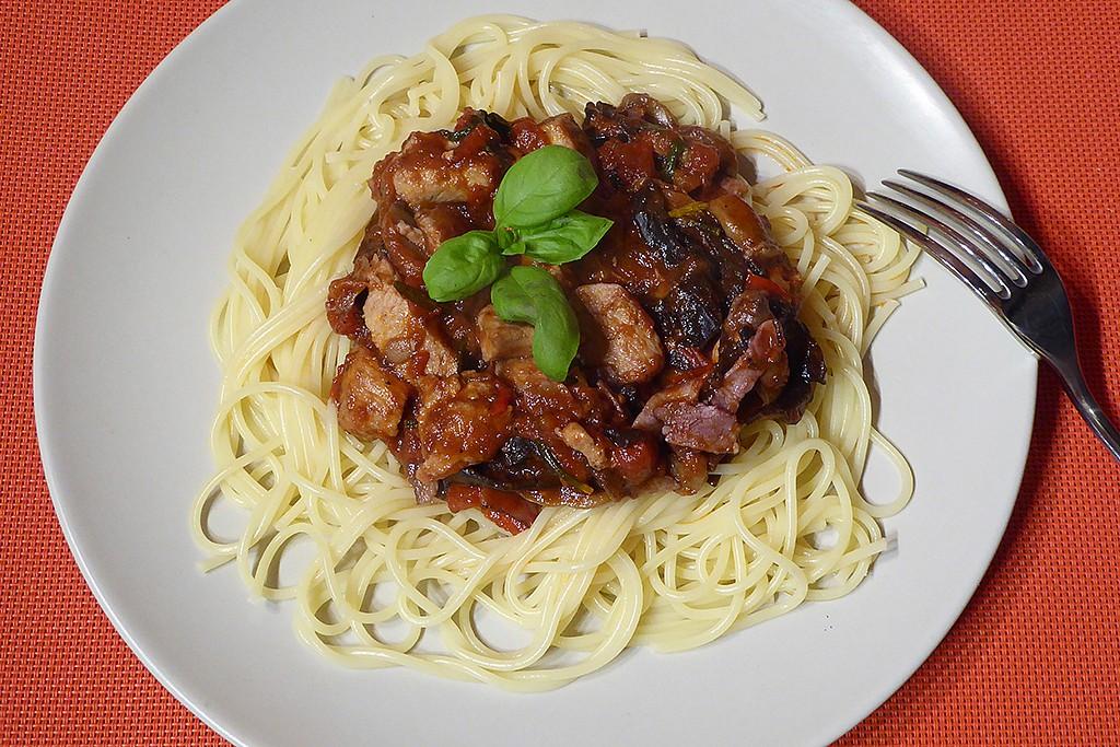 Kuře po myslivecku na italský způsob recept