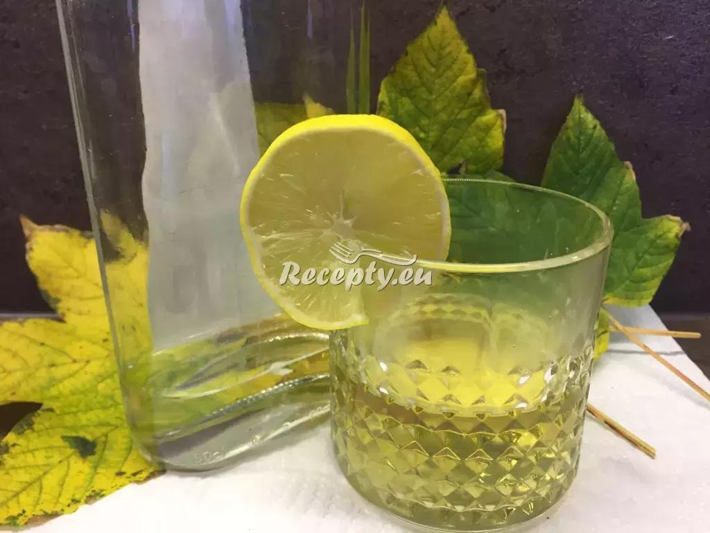 Protichřipková medová slivovice recept  teplé nápoje