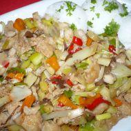 Rybí směs na thajský způsob recept