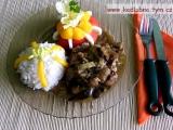 Vepřové nudličky s čínským zelím recept