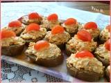 Jednohubky z loveckého salámu a mrkve recept