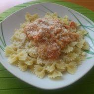 Rajčatové těstoviny recept