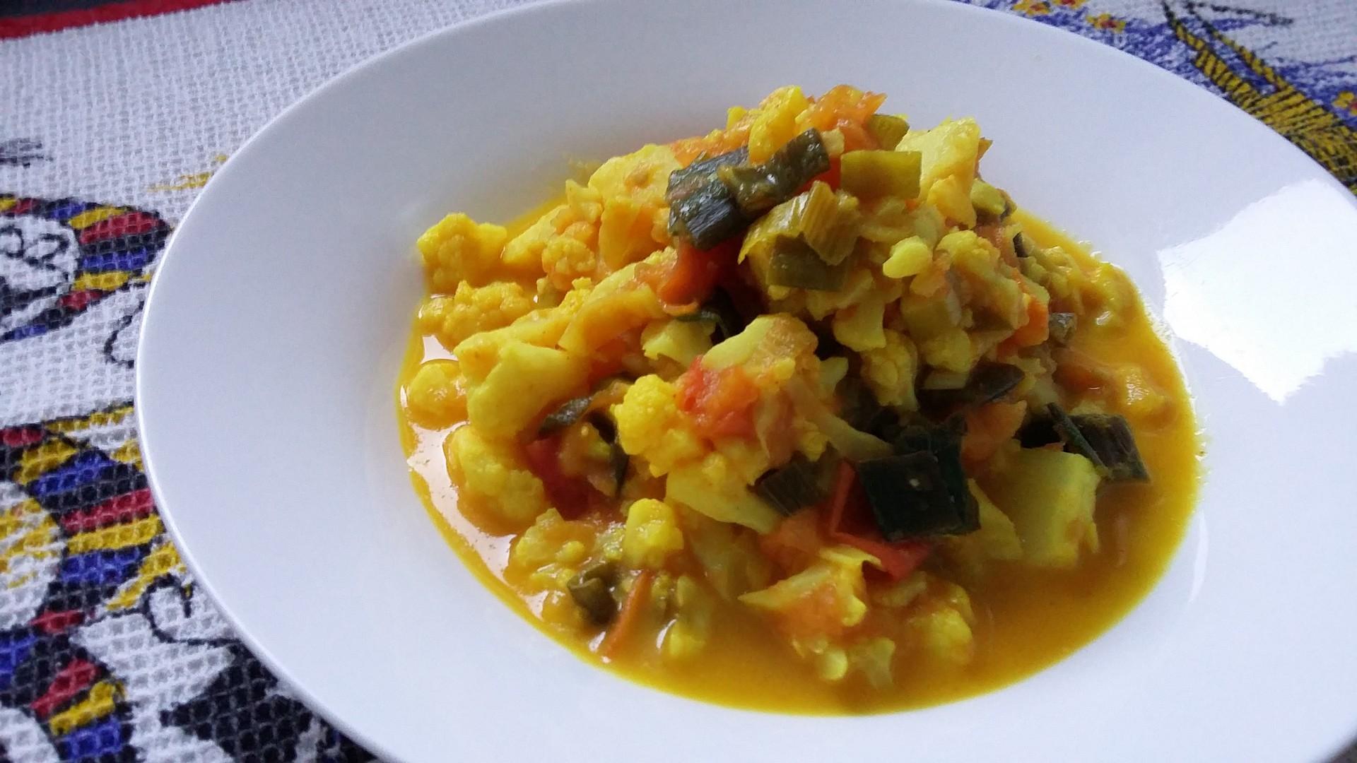 Zlatá zelenina s kapkou smetany recept