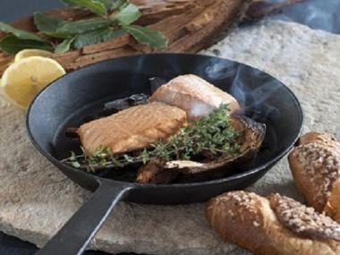 Bleskově doma uzený losos