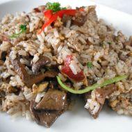 Rýžová směs s játry recept