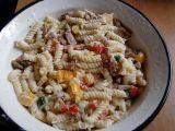 Můj těstovinový salát s kuřecím masem recept