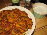 Mrkvové placičky s bylinkovým dipem recept