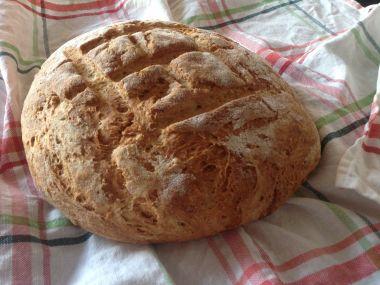 Domácí bramborový chléb