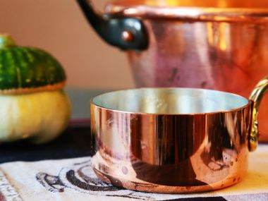 Knedlíčky do polévky z brambor