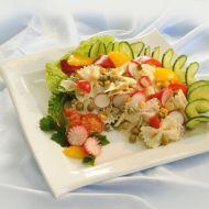 Těstovinový salát s ředkvičkami a jogurtem recept