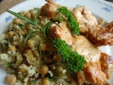 Citronové kuře na bulguru s rozinkami a olivami recept ...
