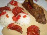 Roládky s nivou a paprikášem recept