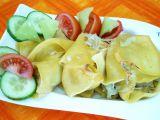 Lasagne jako šneky recept